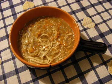 Zuppa di avena con noodles: photo by Antonio Franco