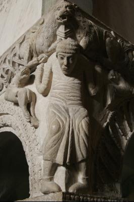 chiesa di S. Ambrogio: particolare