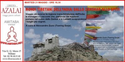 Conferenza: mondi tibetani dell'India.