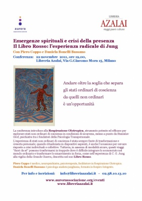 Conferenza: emergenze spirituali