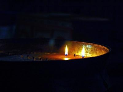 Una luce