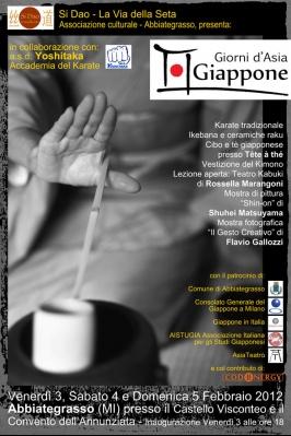 Giorni d'Asia: Giappone 3-4-5- febbraio 2012
