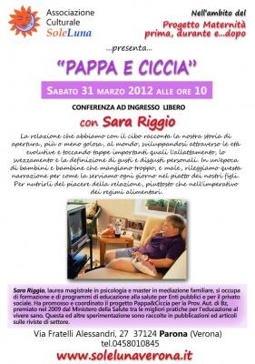 Pappa e ciccia: conferenza gratuita