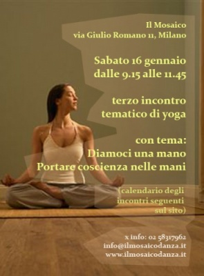 Terzo incontro tematico di Yoga