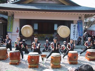 Workshop di Taiko a Fudenji